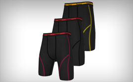 sublimated Compression Shorts