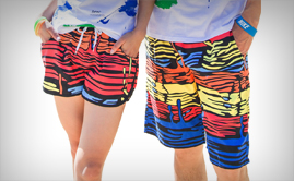 Beach Sublimated Shorts